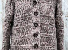 Endless Textured Cardigan By EndlessCrochetCreat