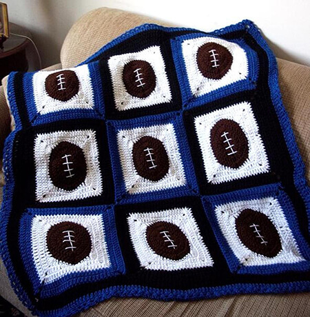 Football Fever Baby Boy Blanket By Designcity