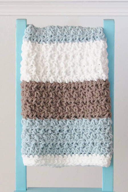 Free Baby Boy Blanket By Crochet Dreamz