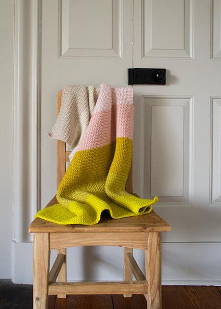 Free Super Easy Crochet Baby Blanket By PurlSoho
