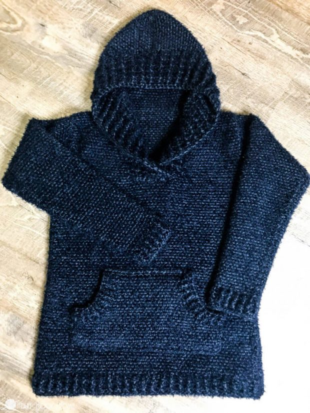 Hibernation Crochet Hoodie Pattern by Heart Hook Home