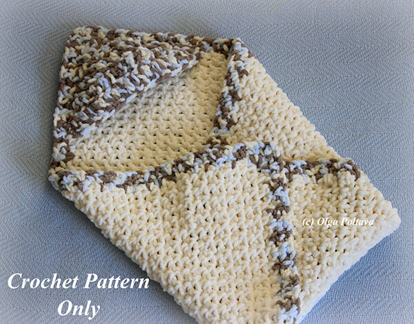 Hooded Baby Boy Blanket By olgapoltava