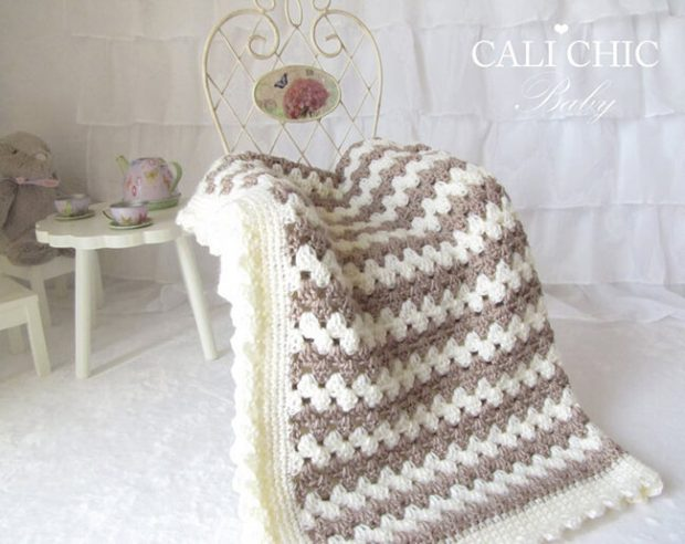Teddy Bear Blanket Pattern By CaliChicBaby