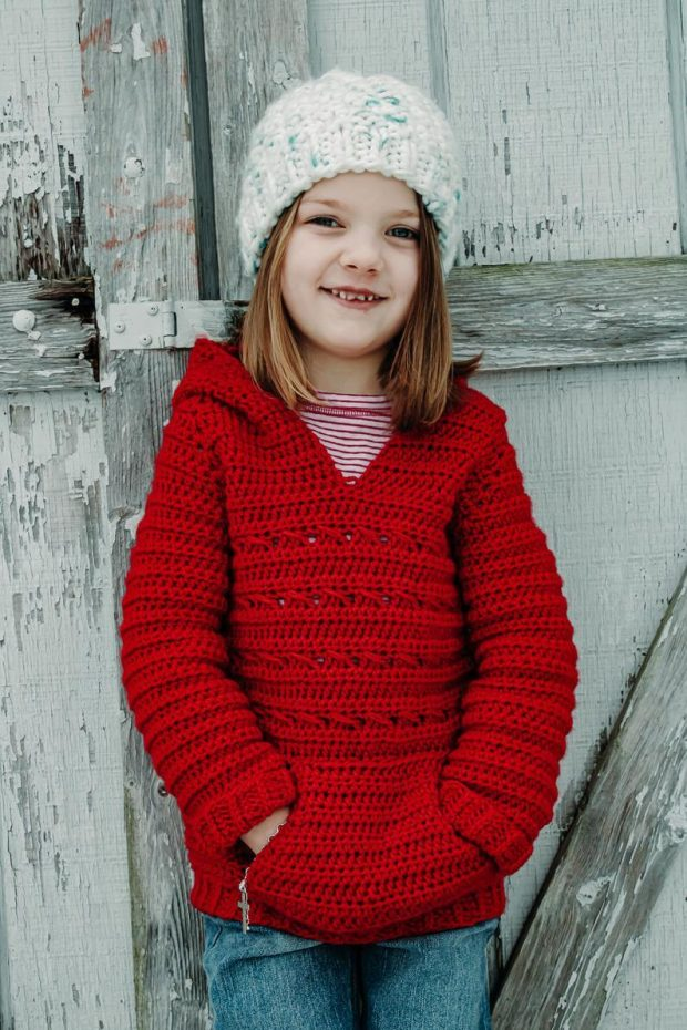 The Little Parker Pullover By HeartfullyStitched