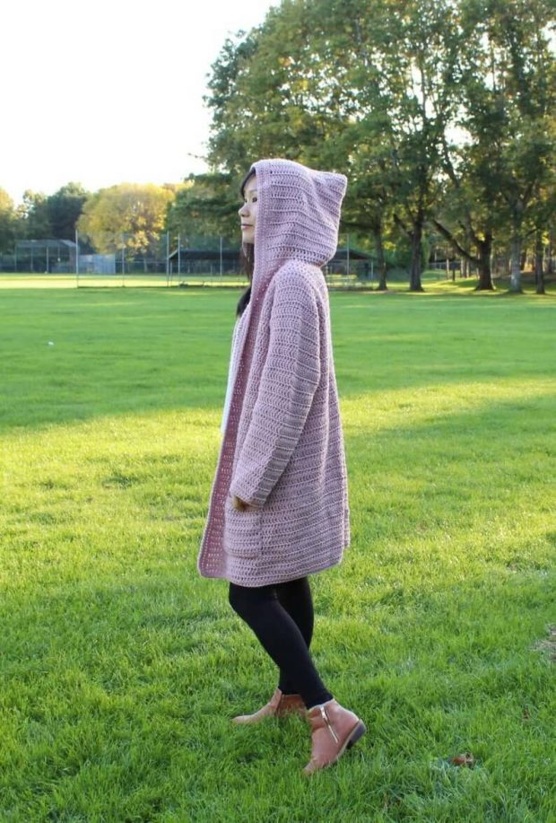 Totally Hip Crochet Hoodie By TrendyCrocheting