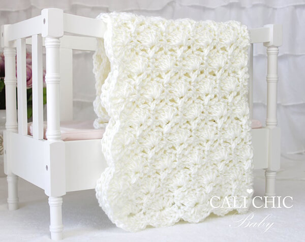 Viola Crochet Baby Blanket By CaliChicBaby