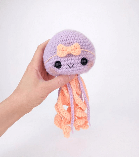 Amigurumi Jellyfish Pattern by Theresa's Crochet Shop