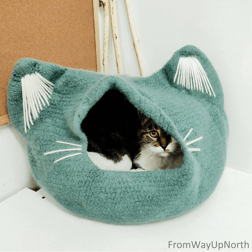 Crochet Cat Cave Lots Of Ideas That You Will Love | The WHOot | 500x500
