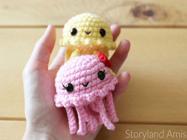 Crochet Baby Jellyfish Amigurumi Pattern by Storyland Amis