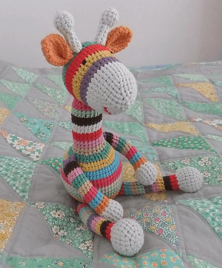 Free Crochet Giraffe Pattern by Emma Dent