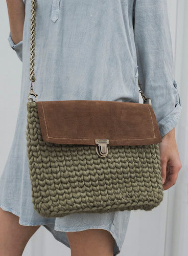 Free Crochet Cross Body Bag Pattern by Megmade With Love