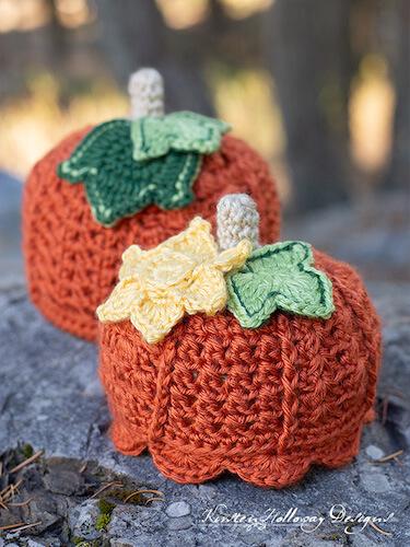 Free Crochet Pumpkin Hat Pattern by Kirsten Holloway Designs