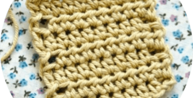 half treble crochet stitch