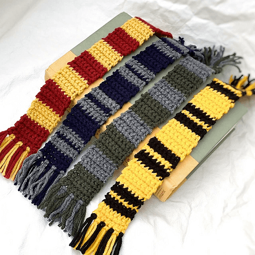 Harry Potter Inspired Bookmark Crochet Pattern by Left In Knots