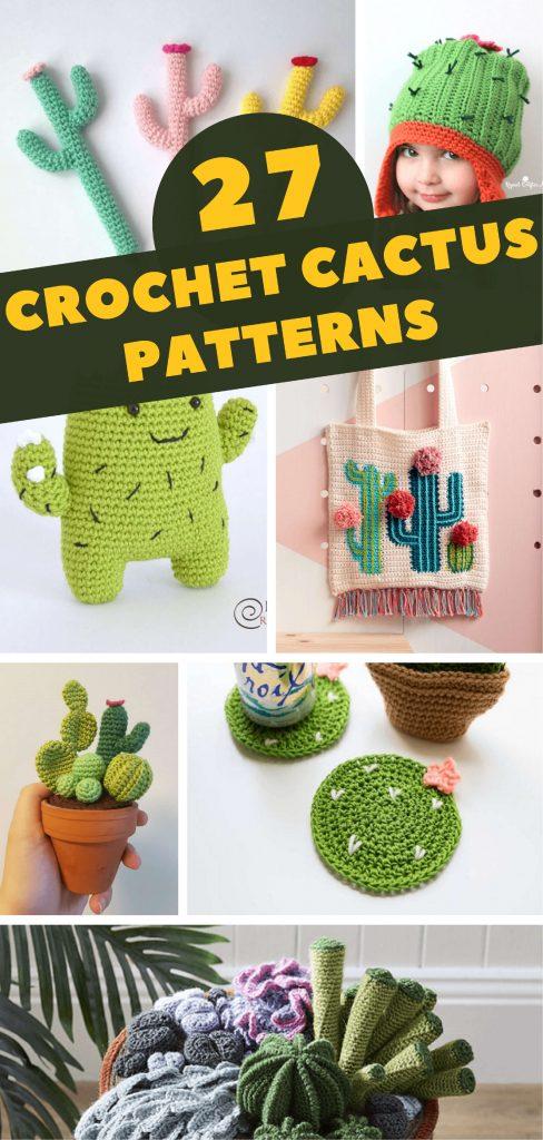 27 Crochet Cactus Patterns