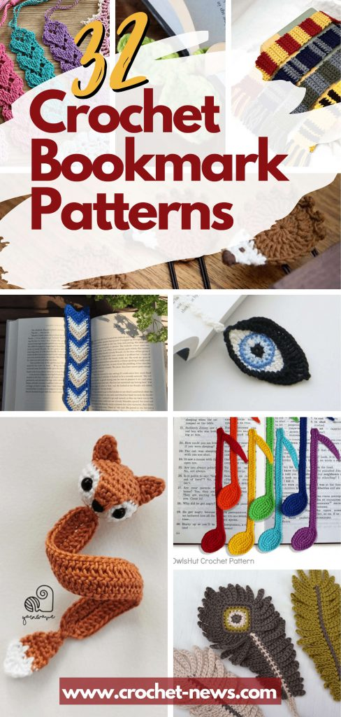 32 Crochet Bookmark Patterns