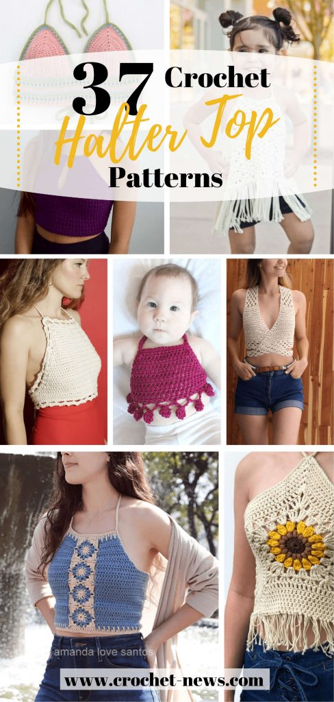 37 Crochet Halter Top Patterns