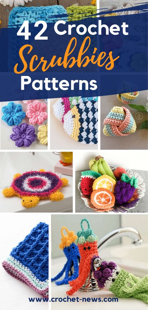 42 Crochet Scrubbies Patterns