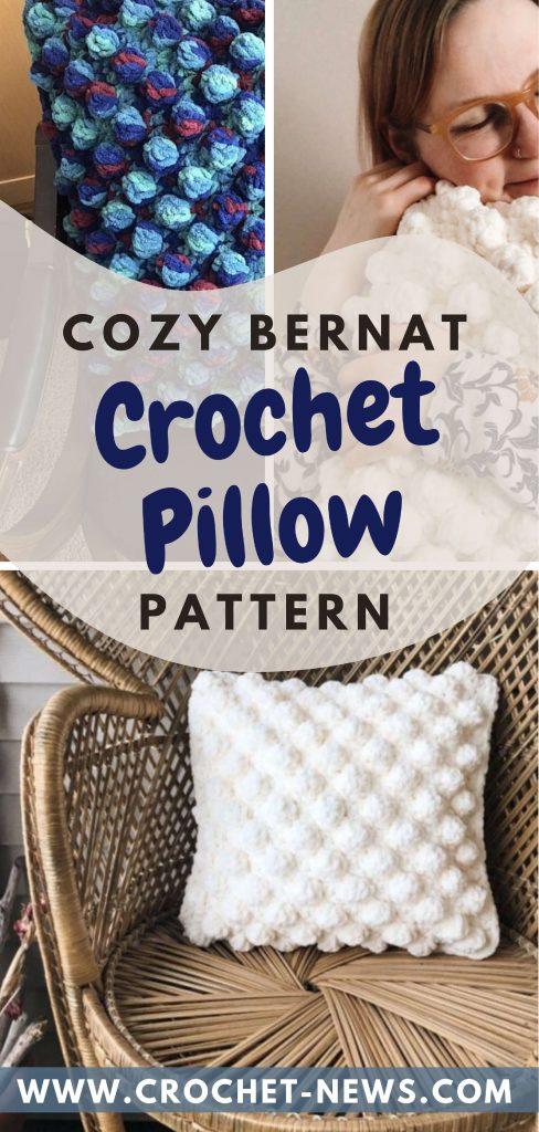Cozy Bernat Crochet Pillow Pattern