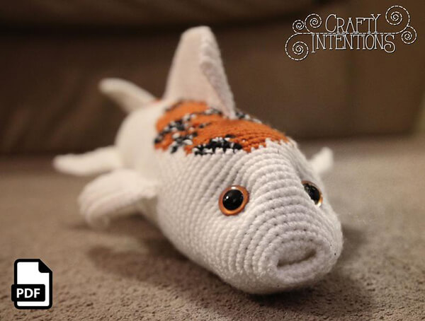 Crafty Intentions Koi Fish Amigurumi Pattern