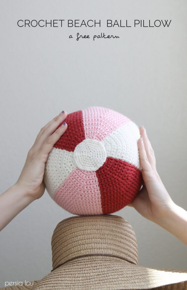 Crochet Beach Ball Pattern By Persialou