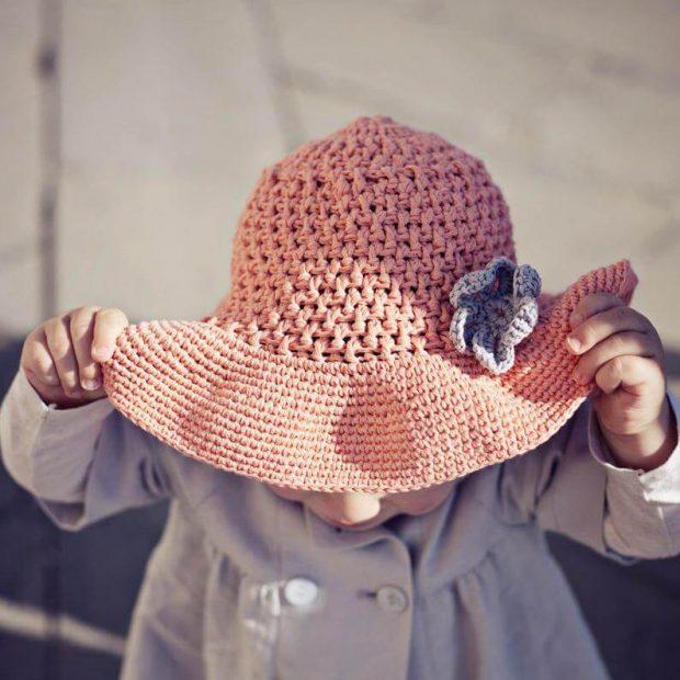 Floppy Sun Hat By monpetitviolon