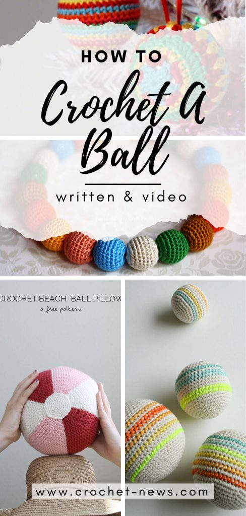How To Crochet A Ball | Written & Video