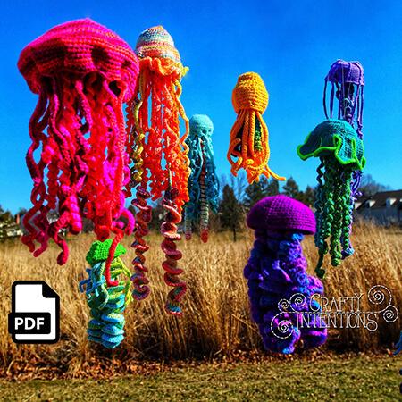 Jellyfish Crochet Amigurumi Pattern