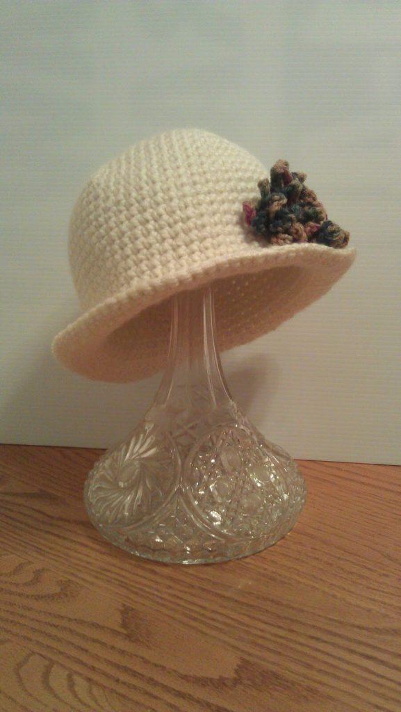 Mini Brim Hat By artsydaisycrochet