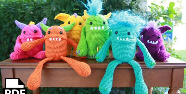 Monster Crochet Amigurumi Pattern