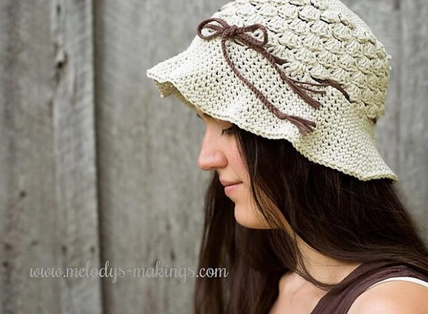 Pebble Beach Hat By Melody Rogers