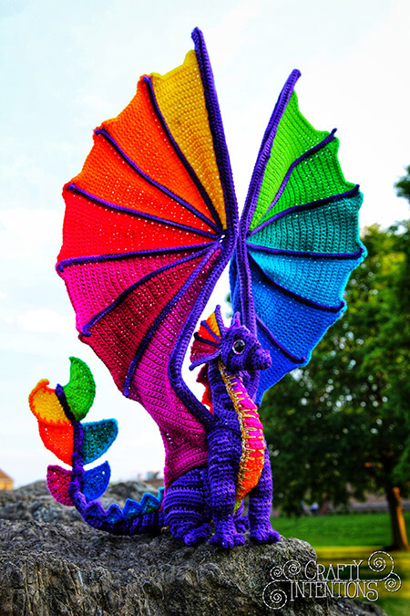 Rainbow Pride Dragon