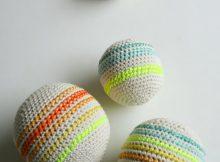 Soft Squishy Crochet Balls for Babies By Purl Soho
