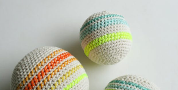 Soft Squishy Crochet Balls for Babies By Purl Soho