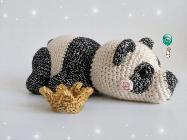 Amigurumi Panda Crochet Pattern by Belle and Grace HMC