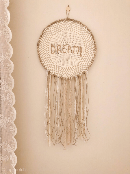 Boho Dream Catcher Crochet Pattern by Top Knotch