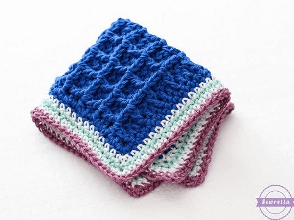 Bumpy Scrubby Crochet Pattern by Sewrella