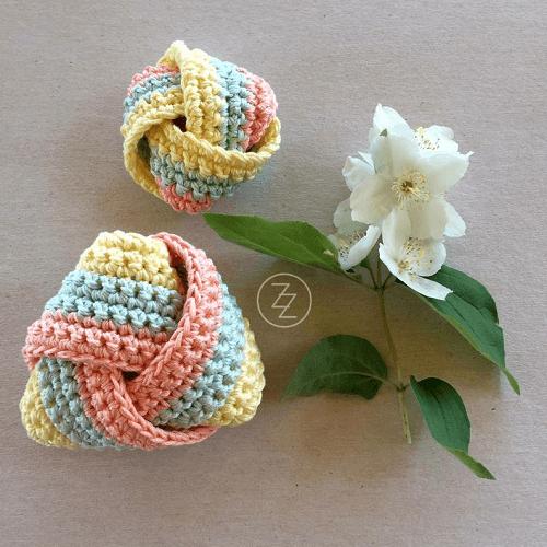 Crochet Dish Scrubbies Pattern by Zbrka Zdola