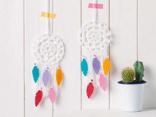Crochet Dreamcatcher Pattern by Mollie Makes