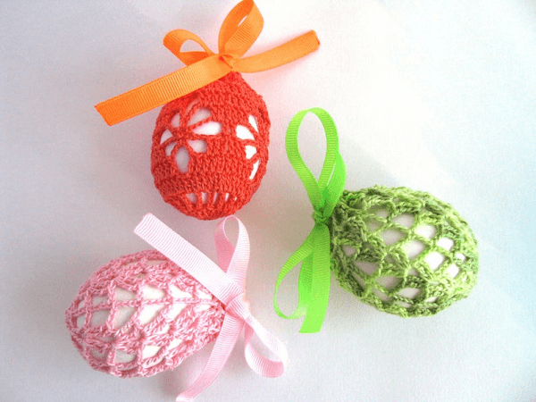 Crochet Easter Egg Covers Pattern by Creative Shop By Alla