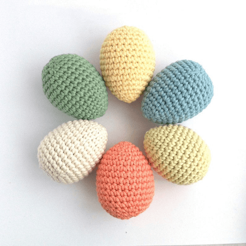 Crochet Easter Egg Pattern by Little Conkers