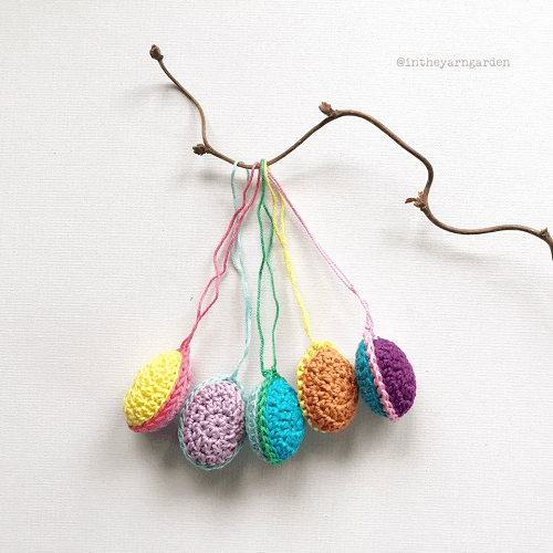 Crochet Easter Eggs by In The Yarn Garden