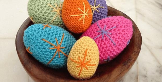 Crochet Easter Egg Patterns by Kristi Tullus
