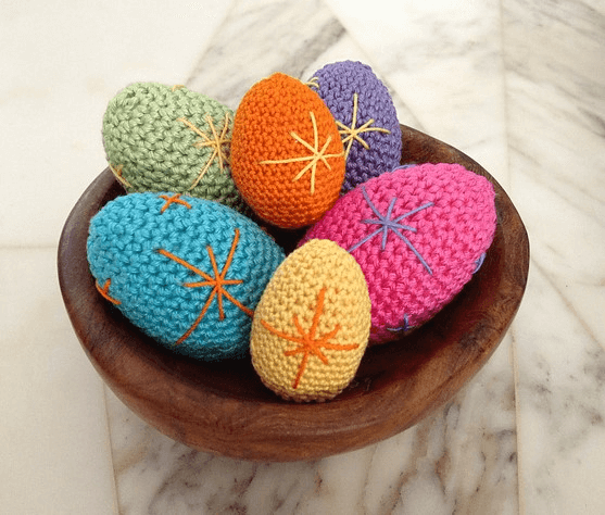 Crochet Easter Egg Patterns by Kristi Tullus