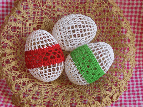 Crochet Easter Eggs by Zicca Handmade Crochet