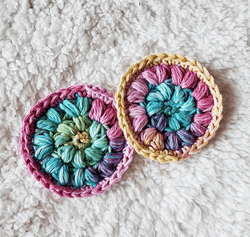 Crochet Face Scrubbies Pattern by Creations Misfit