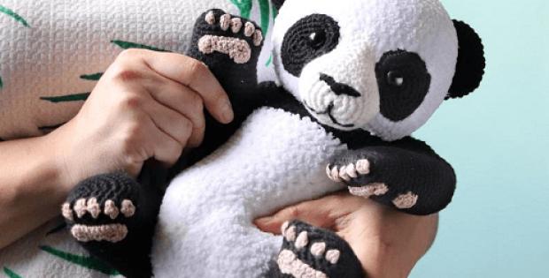 Crochet Panda Pattern by Irene Strange