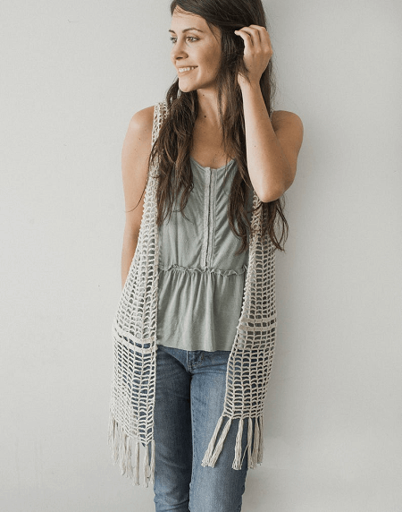 Daydreamer Crochet Vest Pattern by Megmade With Love