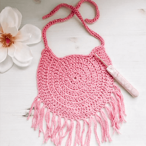 Dream Catcher Baby Bib Crochet Pattern by Tender Warm Creations