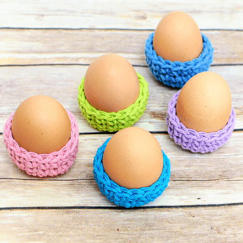Easter Egg Cozy Crochet Pattern by Petals To Picots